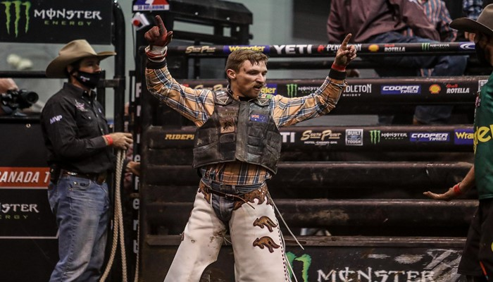 Australian Sensation Callum Miller Wows at 2020 PBR Canada Finals, Aims for Division's National Title in 2021